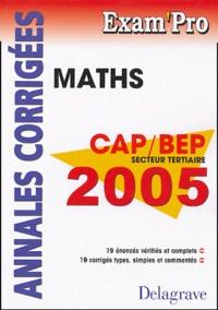 Jean-Charles Juhel et Pierre Juhel - Mathématiques CAP et BEP - Secteur tertiaire.