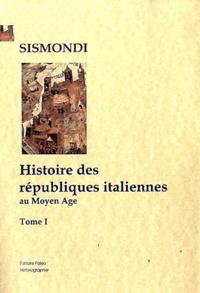 Deedr.fr Histoire des républiques italiennes au Moyen Age Image