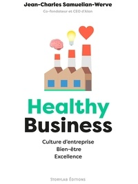 Jean-Charles Samuelian-Werve - Healthy Business - Culture d'entreprise, Bien-être, Excellence.