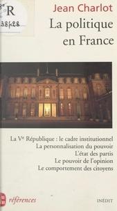 Jean Charlot - La politique en France.