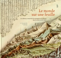Jean-Christophe Bailly et Jean-Marc Besse - Le monde sur une feuille - Les tableaux comparatifs de montagnes et de fleuves dans les atlas du XIXe siècle.