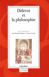 Jean-Christophe Bardout et Vincent Carraud - Diderot et la philosophie.