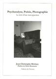 Jean-Christophe Betrisey - Psychanalyse, Poésie, Photographie - Le récit d'une introspection.