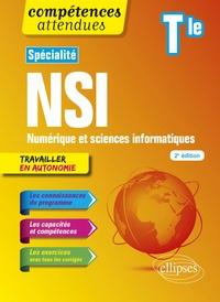 Jean-Christophe Bonnefoy et Bertrand Petit - Spécialité NSI Numérique et sciences informatiques Tle.