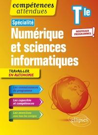Jean-Christophe Bonnefoy et Bertrand Petit - Spécialité numérique et sciences informatiques Tle.