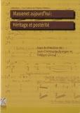 Jean-Christophe Branger et Vincent Giroud - Massenet aujourd'hui : Héritage et postérité - Actes du colloque de la XIe biennale Massenet des 25 et 26 octobre 2012. 1 CD audio