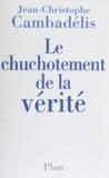 Jean-Christophe Cambadélis - .