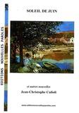 Jean-Christophe Culioli - Soleil de juin et autres nouvelles.