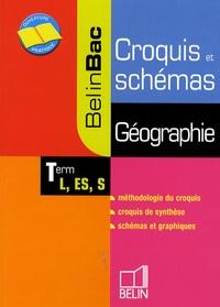 Jean-Christophe Delmas et Bruno Stary - Géographie Tle L, ES - Croquis et schémas.