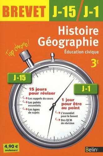 Jean-Christophe Delmas et Jacqueline Bernard - Histoire-géographie, éducation civique 3e.