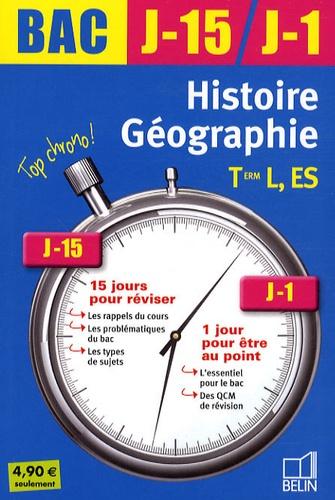 Jean-Christophe Delmas et Jacqueline Bernard - Histoire-Géographie Tle L, ES.