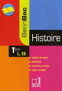 Jean-Christophe Delmas - Histoire Tle L, ES.