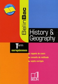 Jean-Christophe Delmas - History & Geography Tle européennes.