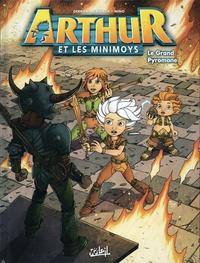 Jean-Christophe Derrien et Philippe Castaza - Arthur et les Minimoys Tome 2 : Le Grand Pyromane.