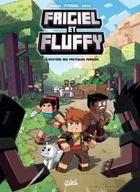 Jean-Christophe Derrien et  Frigiel - Frigiel et Fluffy T01 - Le Mystère des pastèques perdues - Minecraft.