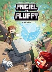 Jean-Christophe Derrien et  Frigiel - Frigiel et Fluffy T03 - Le Bloc originel - Minecraft.
