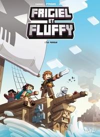 Jean-Christophe Derrien et  Frigiel - Frigiel et Fluffy T05 - L'île perdue - Minecraft.