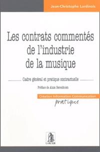 Corridashivernales.be Les contrats commentés de l'industrie de la musique - Cadre général et pratique contractuelle Image