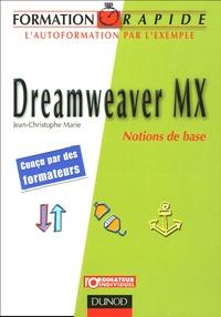 Jean-Christophe Marie - Dreamweaver MX - Notions de base.