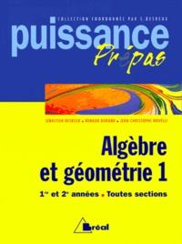 ALGEBRE ET GEOMETRIE 1ERE ET 2EME ANNEES TOUTES SECTIONS. Tome 1.pdf