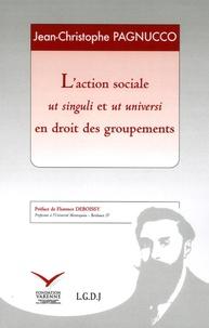 Goodtastepolice.fr L'action sociale ut singuli et ut universi en droit des groupements Image