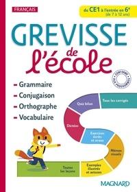 Jean-Christophe Pellat et Francis Alix - Grevisse de l'école du CE1 à l'entrée en 6e.