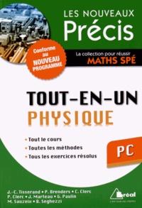 Jean-Christophe Tisserand et Pierre Brenders - Tout-en-un Physique PC.