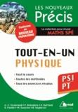 Jean-Christophe Tisserand et Pierre Brenders - Tout-en-un Physique PSI/PT.