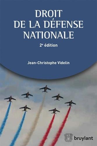 Jean-Christophe Videlin - Droit de la défense nationale.