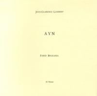 Jean-Clarence Lambert - Ayn.