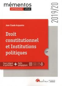 Télécharger ebook free pdf Droit constitutionnel et Institutions politiques
