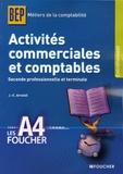 Jean-Claude Arnoldi - Activités commerciales et comptables BEP 2e et Tle.