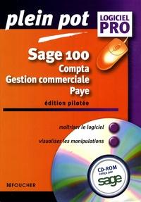 Jean-Claude Arnoldi et Guy Van Assche - Sage 100 - Compta - gestion commerciale - paye. 1 Cédérom