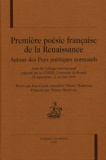 Jean-Claude Arnould et Thierry Mantovani - Première poésie française de la Renaissance - Autour des Puys poétiques normands.
