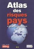 Jean-Claude Asfour - Atlas des risques pays à l'usage des exportateurs.