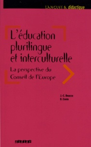 Jean-Claude Beacco et Daniel Coste - L'éducation plurilingue et interculturelle - La perspective du Conseil de l'Europe.