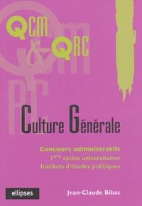 Jean-Claude Bibas - Culture générale.