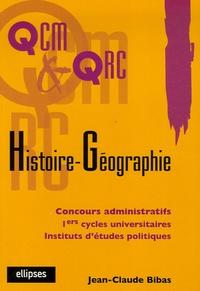 Jean-Claude Bibas - Histoire-géographie.