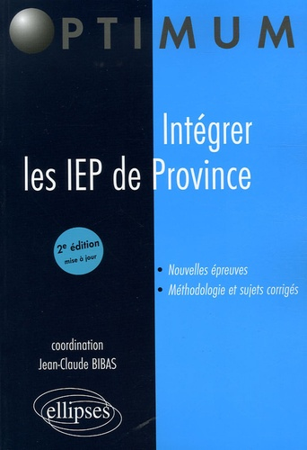 Jean-Claude Bibas - Intégrer les IEP de Province.