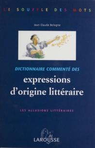 Jean-Claude Bologne - .