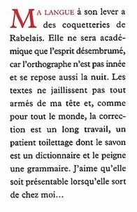 Jean-Claude Bologne - Voyage autour de ma langue.