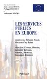 Jean-Claude Boual et Philippe Brachet - Les services publics en Europe - Edition bilingue français-anglais.