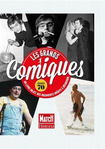 Jean-Claude Bourret et Dominique Chabrol - Les grands comiques - Années 70.
