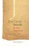 Jean-Claude Brisville - Je me souviens - 1925-1945.
