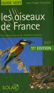 Jean-Claude Chantelat - Les oiseaux de France.