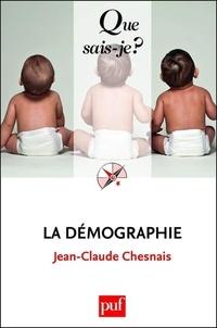 Jean-Claude Chesnais - La démographie.