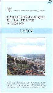 Jean-Claude Chiron et Yves Kerrien - Lyon - 1/250 000.