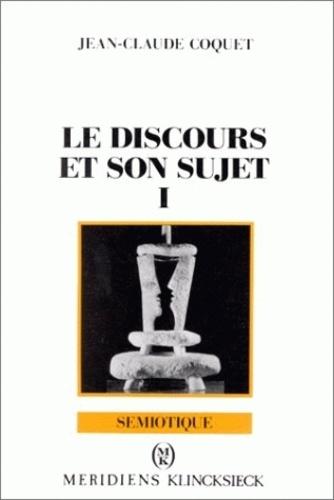 Jean-Claude Coquet - Essai de grammaire modale.