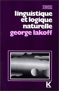Jean-Claude Coquet - Linguistique et logique naturelle.