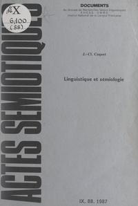 Jean-Claude Coquet et Aldirdas J. Greimas - Linguistique et sémiologie.